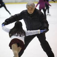 Veteran coach Nobuo Sato, a 10-time Japan champion during his skating days, has made immense contributions to the sport during his long career. | AP