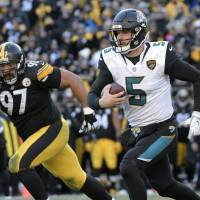 Jaguars beat Steelers again to set up contest against Patriots for AFC crown