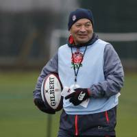 Former Japan coach Eddie Jones signs extension with England