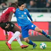 Yoshinori Muto scores fourth goal of season in Mainz defeat