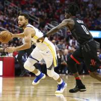 Warriors send reeling Rockets to another loss