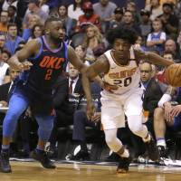 Young reserves step up for Suns in win over Thunder