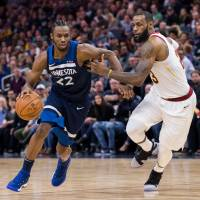 Timberwolves pounce on Cavaliers