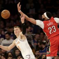 Anthony Davis leads charge as Pelicans rally from 19 down at MSG