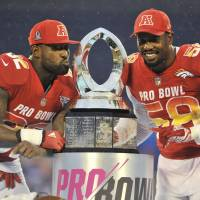 AFC overcomes 17-point deficit to edge NFC in Pro Bowl