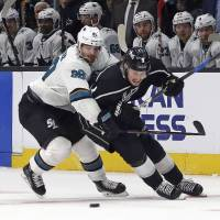 Sharks whip Kings again