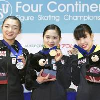 Miyahara leads 1-2-3 Japan finish in short program