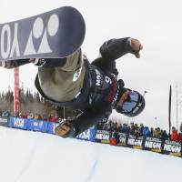 Totsuka takes third in World Cup event