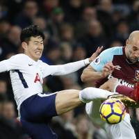 Son Heung-min saves Spurs with long-range strike