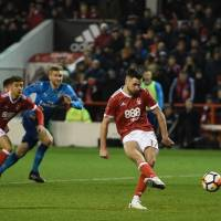 Nottingham Forest stuns Arsenal in F.A. Cup