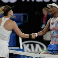 Venus Williams and Sloane Stephens tumble out on bad day for Americans at Australian Open
