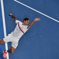 Roger Federer advances to seventh Australian Open final as Hyeon Chung retires due to foot blisters