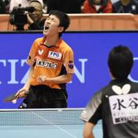 14-year-old Tomokazu Harimoto becomes youngest national table tennis singles champion
