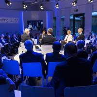 The European External Action Service held discussions at the 2017 WEF annual meeting. | FARUK PINJO