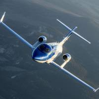 HondaJet was the most delivered small business jet in 2017, according to data from the General Aviation Manufacturers Association.   KYODO