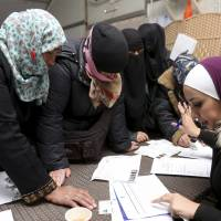 Job center for Syrians opens in Jordan refugee camp amid EU-backed policy shift