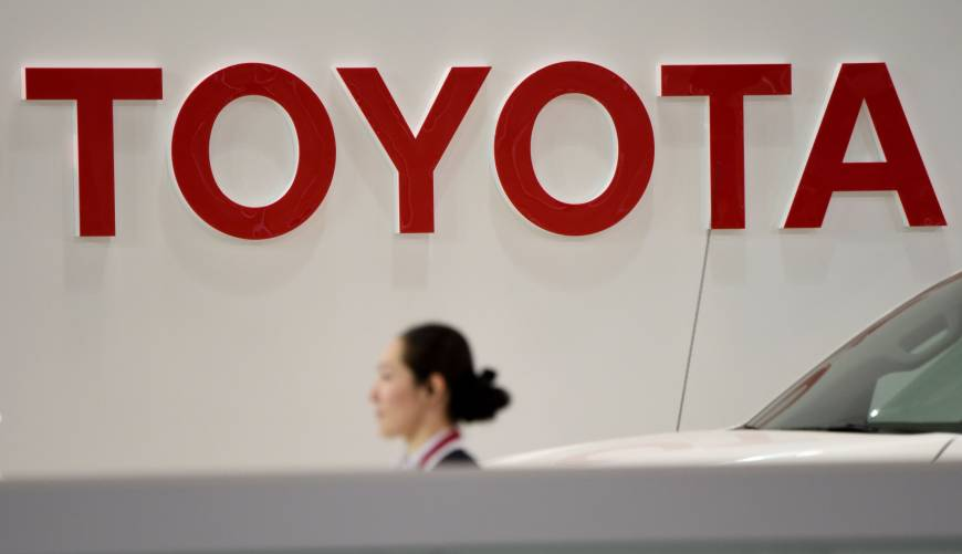 Toyota forecasts record net profit for full fiscal year