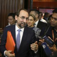 U.N. human rights chief warns Rohingya crisis could spark regional conflict
