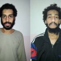 U.S.-backed Syrian rebels open to handing over two captured 'Beatles' British IS militants