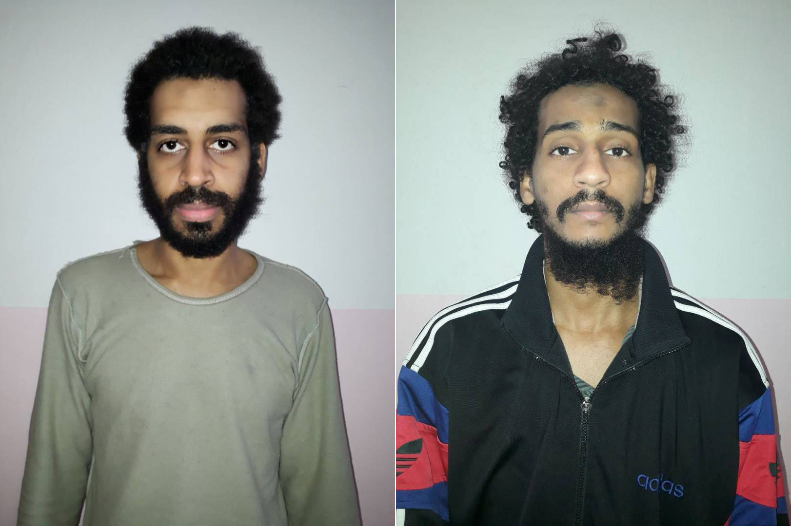 Alexanda Amon Kotey (left) and El Shafee Elsheikh are notorious for their alleged role in the kidnapping, torture and killing of Western hostages in Syria. | REUTERS