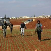 Fighting intensifies as Turkey-backed forces push into Syrian Kurd enclave