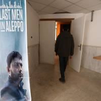 Oscar-nominated Syrian film 'Last Men in Aleppo' screened in rebel-held Idlib