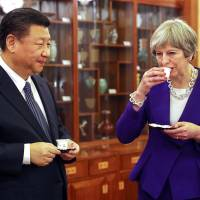 Are you okay, Auntie May? China warms to U.K. prime minster
