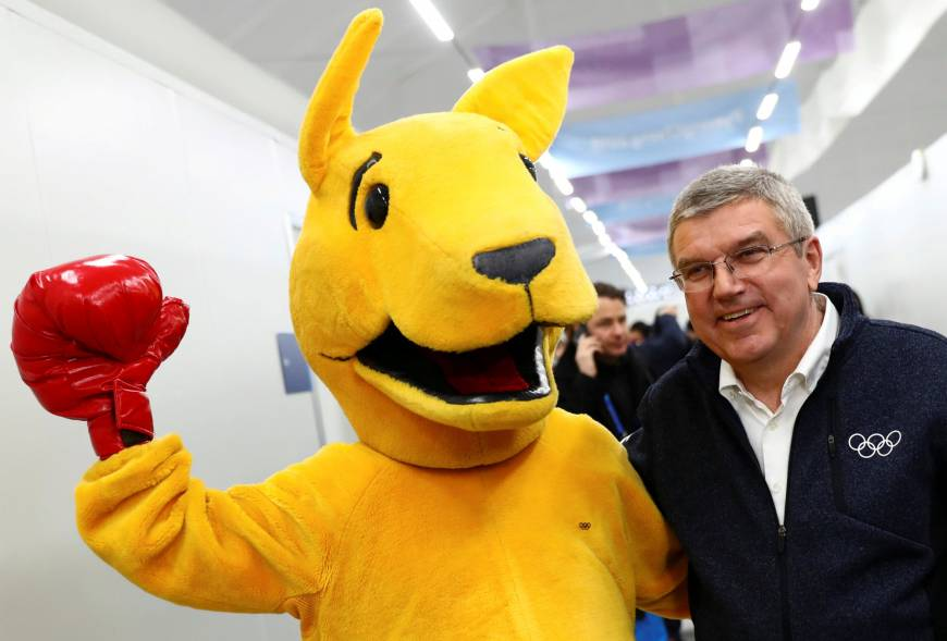 IOC boss to visit North Korea after Winter Olympics: source