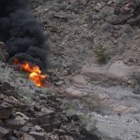 Pastor recalls shock of seeing tourist chopper spin to fiery crash in Grand Canyon