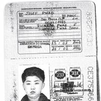 A scan obtained by Reuters shows a Brazilian passport apparently issued in 1996 to North Korea's current leader, Kim Jong Un. | HANDOUT / VIA REUTERS