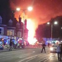 Four dead after blast destroys shop and home in Leicester, England