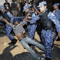 Trouble in paradise: Clashes erupt in Maldives as court orders jailed politicians freed