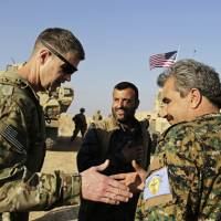 At U.S. outpost in Syria, American general backs Kurdish fighters amid Turkish threat