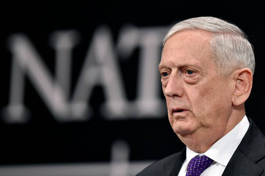 Artificial intelligence's impact on arms changing nature of war: Pentagon chief Jim Mattis