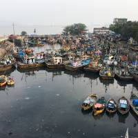 Sassoon Dock is set for modernization as part of a planned redevelopment of Mumbai's docklands. | THOMSON REUTERS FOUNDATION/RINA CHANDRAN