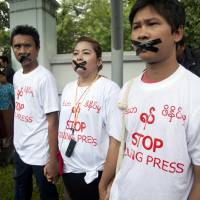 Like predecessors, Myanmar regime under Suu Kyi also seen suppressing journalists