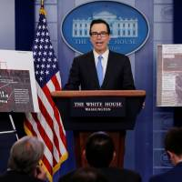 U.S. imposes more North Korea sanctions, Trump warns of 'phase two'