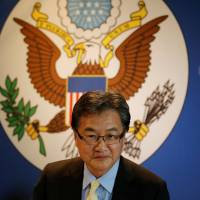 Joseph Yun, the U.S. State Department's top diplomat in charge of North Korea policy, arrives for a meeting with reporters in Bangkok last December. | REUTERS