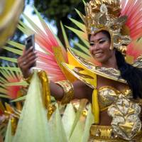 Rio de Janeiro stages 'greatest show' of samba parades under cloud of violence and poverty