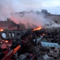 Civilian toll mounts as Russia steps up airstrikes on Syria's Idlib after jet's downing, pilot's killing