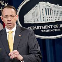 13 Russians charged with meddling in 2016 presidential race