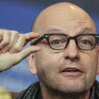 Director Steven Soderbergh attends a news conference for the film 'Unsane' during the 68th edition of the International Film Festival Berlin, Berlinale, in Berlin Wednesday. | AP