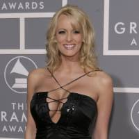 Stormy Daniels arrives for the 49th Annual Grammy Awards in Los Angeles in 2007. President Donald Trump's personal attorney says he paid $130,000 out of his own pocket to the porn actress, who allegedly had a sexual relationship with Trump in 2006. Michael Cohen tells The New York Times he was not reimbursed by the Trump Organization or the Trump campaign for the payment to Stormy Daniels, whose real name is Stephanie Clifford. | AP