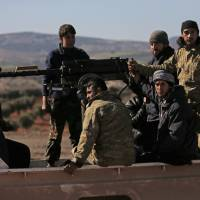 Shifting allegiances as Syrian rebels seek relevance by joining Turkey's offensive against Kurds