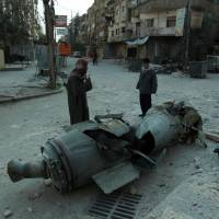 Strikes continue to pound Syria's eastern Ghouta as world fumbles for response