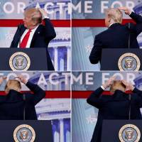 Add another item to Trump's list of frustrations: his bald spot