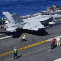 'U.S. presence matters' says admiral on carrier in the South China Sea