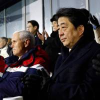 Abe takes up nuclear issue and abductions in chat with North Korea's ceremonial leader