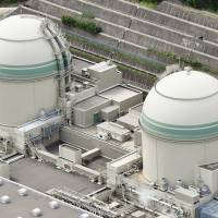 Government officials see no need to draft a new evacuation plan for the possibility of simultaneous nuclear accidents taking place at the Takahama (above) and Oi nuclear power plants in Fukui Prefecture.   KYODO
