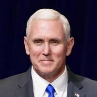 Mike Pence   KYODO